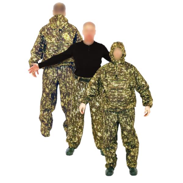 Костюм защитный специальный (куртка-анорак + брюки без сапог), камуфляж арт. 216 КЗС 1 • ТД «БелФУТ»