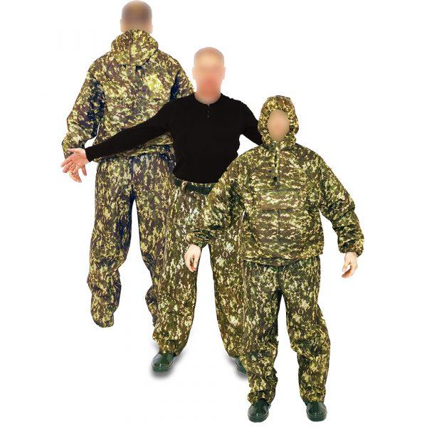 Костюм защитный специальный (куртка-анорак + брюки без сапог), камуфляж 2 • ТД «БелФУТ»