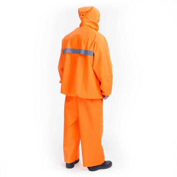 Костюм защитный специальный (куртка-анорак + полукомбинезон без сапог), цвет флуоресцентный арт. 218 КЗС 2 • ТД «БелФУТ»