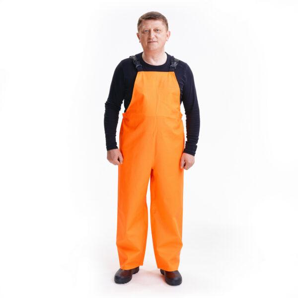 Костюм защитный специальный (куртка-анорак + полукомбинезон без сапог), цвет флуоресцентный арт. 218 КЗС 4 • ТД «БелФУТ»