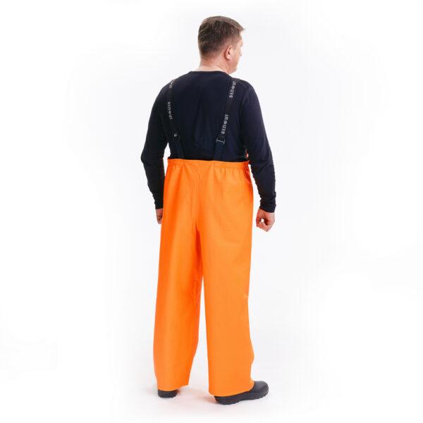 Костюм защитный специальный (куртка-анорак + полукомбинезон без сапог), цвет флуоресцентный арт. 218 КЗС 5 • ТД «БелФУТ»