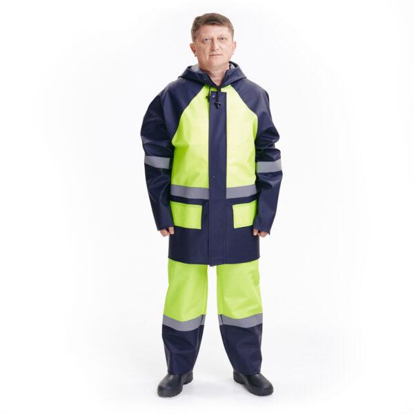 Костюм защитный специальный (куртка комбинированная + полукомбинезон комбинированный без сапог) арт. 219 КЗС 1 • ТД «БелФУТ»