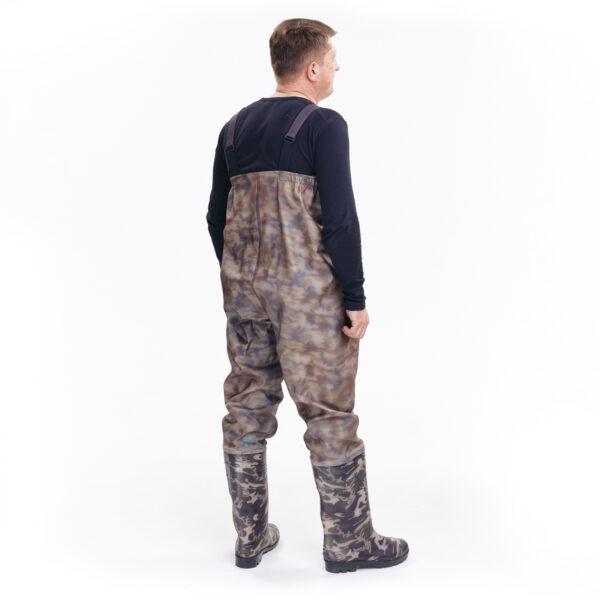 Полукомбинезон рыбацкий цвета камуфляж арт. 918 СРС камуфляж 3 • ТД «БелФУТ»