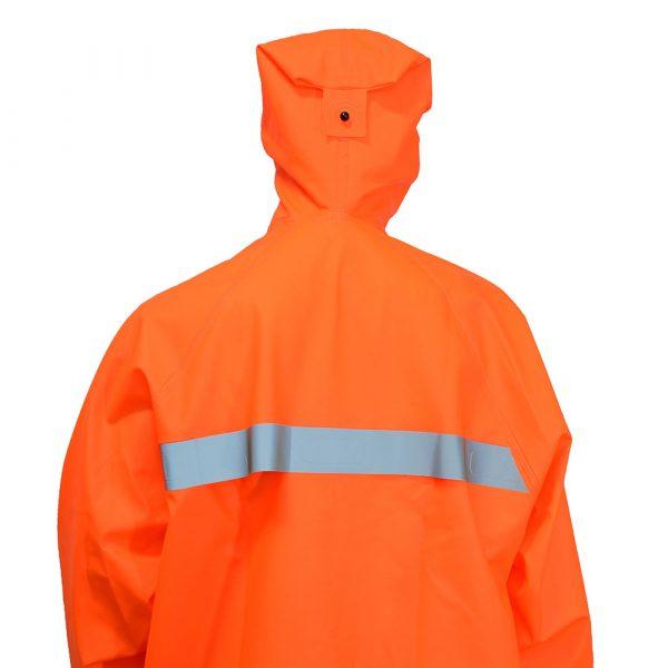 Костюм защитный специальный (куртка-анорак + полукомбинезон без сапог), цвет флуоресцентный 2 • ТД «БелФУТ»