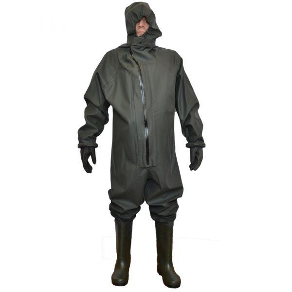Комбинезон защитный КИЗ с перчатками 1 • ТД «БелФУТ»