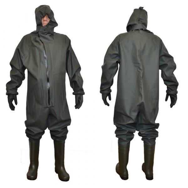 Комбинезон защитный КИЗ с перчатками 3 • ТД «БелФУТ»